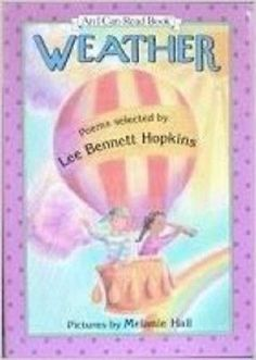 Weather: Poems (An I Can Read Book) [Jan 01, 1994]