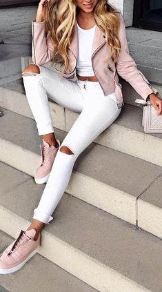 Cute Casual Back to School Outfit Ideas for 2018 - Ropa - . - - Cute Casual Back to School Outfit Ideas for 2018 – Ropa – Source by outfitbes Mode Outfits, Trendy Outfits, Fall Outfits, Fashion Outfits, Womens Fashion, Fashion Trends, Classy Outfits For Teens, Fashion Clothes, Sneakers Fashion