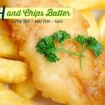 Fish and Chips Batter (gluten and dairy free)Maybe sub seltzer for the coconut milk?