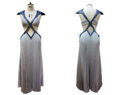"From ""Game of Thrones"" worn by Emilia Clarke as Daenerys Targaryen design by Michele Clapton"