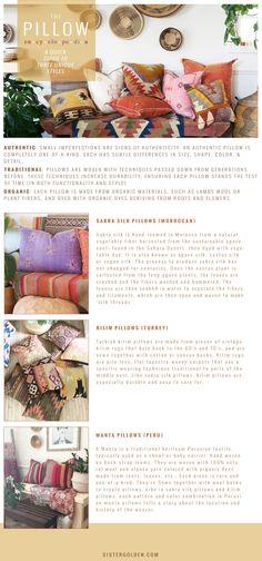 Pillow Encyclopedia: A Quick Guide to 3 Unique Styles - sistergolden.com