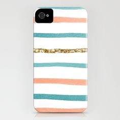 Sparkle Stripe iPhone Case... I don't even have an iPhone... why am I repinning this?