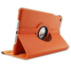 For iPad Air 2 Leather Case 360 degrees flip leather back cover case For apple ipad air2 Smart Cover for Ipad 6 Tablet case