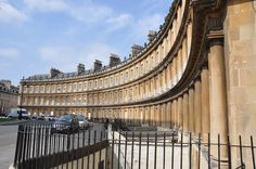 The Circus - 18th Century Architecture in Bath, England