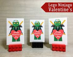 Is your little one obsessed with Lego's? Recreate these Free Lego Valentine's Day Printable characters for your next class party. Free printable!