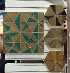 wooden tiles fromAlys Edwards