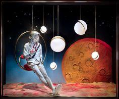Lee Broom Illuminates Bergdorf Goodman's Menswear Windows
