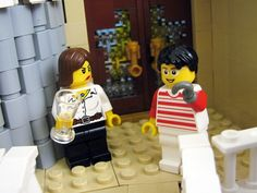 "Lego ""Arrested Development""- Lucille and Buster.  I'M A MONSTERRRRRRR!  AHHH!!!"