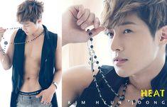 "Kim Hyun Joong releases MV for ""Heat"""