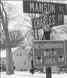 funny street name street sign