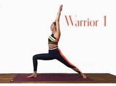 Yogauebung Revolved Chair Kino Yoga, Yoga 1, Yoga Meditation, Fitness Workouts, Yoga Fitness, Sport Fitness, Warrior 1, About Me Blog, Motivation