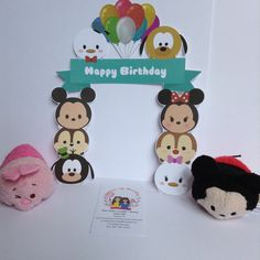 Inspired in Disney Tsum Tsum Tsum Tsum birthday by queenofnovelty