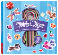 Klutz Twirled Paper - $18.95 -- Learn the art of quilling with this book and craft kit. What can you design and personalize, with fun curled paper strips? Combine colors and shapes into just about anything you can imagine! Ages 10+