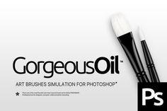 RM Gorgeous Oil by Roman Melentyev on @creativemarket