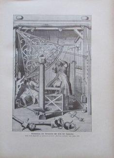 Bestimmung von Sternorten mit Hilfe Sertanten nach Hevelii - Druck aus ca 1906