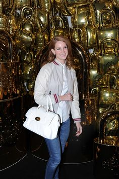 Lana Del Rey Front Row at Mulberry