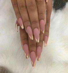 Дизайн ногтей френч - модные новинки 2017 на фото.