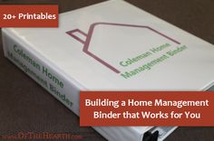 Home Construction Organizer Kit  Create A House Construction