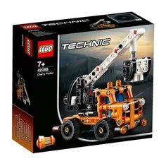 LEGO Technic - Cherry Picker - Building & Construction for Ages 7 to 11 - Fat Brain Toys Lego Technic Sets, Shop Lego, Buy Lego, Slot Car Sets, Slot Cars, Lego Ninjago, Lego City, Plastic Model Kits, Plastic Models