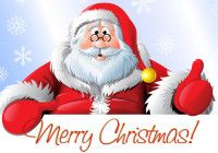 Old Santa Claus Merry Christmas Images