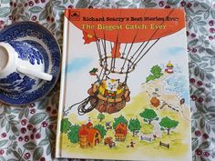 The Biggest Catch Ever by Richard Scarry, children's Book Richard Scarry, Little Golden Books, Childrens Books, Cover, Ebay, Children's Books, Children Books, Kid Books, Books For Kids