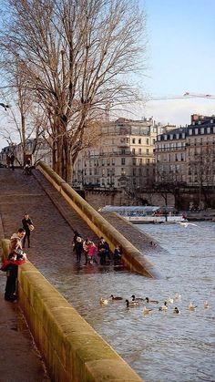 Paris, Quais de Seine ~ by Calinore on Flickr