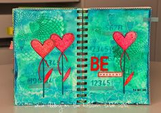 Some fiddling on the kitchen table: Art Journal #11