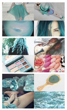 """☽ Sailor Moon Aesthetics ☾- Sailor Neptune/Kaiou Michiru (海王みちる) """"I am the star that rises from the sea–The twilight sea. I bring men dreams that rule their destiny. I bring the dream-tides to the souls of men; The tides that ebb and flow and ebb again–These are my secret, these belong to me– """"I am the eternal Woman, I am she! The tides of all men's souls belong to me."""