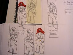Mario Brothers Bookmark Video Game Gaming Sci Fi Nintendo for boys for girls for teens for adults for guys toad sega nerd personalized. $2.00, via Etsy.
