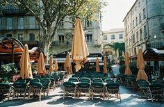 """ cafe de place, Avignon   by © saviorjosh """