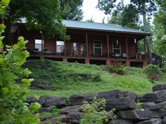 Triple S Cabin River Front with Private Dock   Vacation Rental in Greers Ferry Lake from @homeaway! #vacation #rental #travel #homeaway