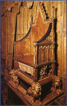 The Stone of Scone, a venerated relic, which Scottish Kings had been crowned on since the Dark Ages, was taken in 1296 and removed to Westminster. It was incorporated in a coronation chair specially built for this purpose at Westminster Abbey and has only recently been returned to Scotland.  The banner of Scottish resistance was taken up by the patriot William Wallace, he was both a brave and resourceful opponent and defeated Edward's forces at Stirling Bridge in 1297.