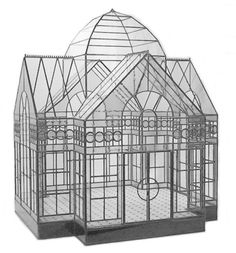 The Great Conservatory - Lady Jane Glass Display Cases