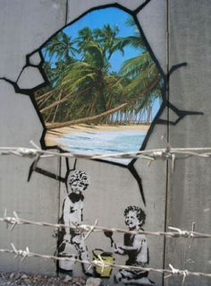 106 Awesome Banksy Graffiti Drawings.
