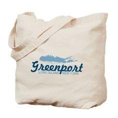 Greenport - Long Island. Tote Bag on CafePress.com