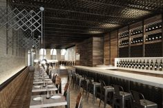 TESSA Restaurant in NYC by Bates Masi Architects