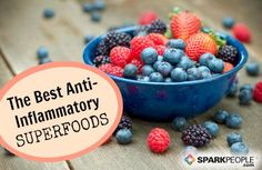 10 Foods That Fight Inflammation | via @SparkPeople @DrEliaz
