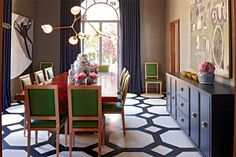 Grant K. Gibson #dining room #love