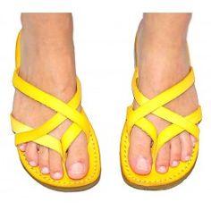 0af76a991b9 Jerusalem Sandals 50. Yellow LeatherLeather SandalsFlip FlopsSummer  SandalsFlat ShoesFlatsBallet ...