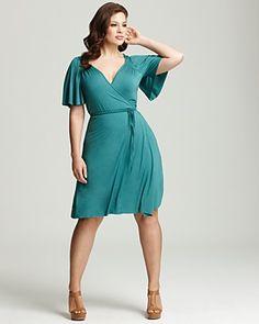 Rachel Pally White Label Plus Size Finn Flutter Wrap Dress | Bloomingdale's