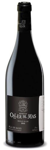 Oller del Mas: Diseño de etiqueta vino tinto Bernat Oller.