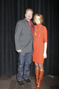 Stana + Andrew // But actually the fact that he's standing on something to look taller than her. I can't