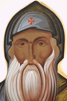 Byzantine Art, Byzantine Icons, Greek Icons, Art Icon, Techno, Saints, Pastel, Christian, Painting