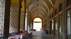 """100 meters of 40km of porticos in Bologna - """"Ciao from Bologna: taking it slow"""" by solotraveler"""