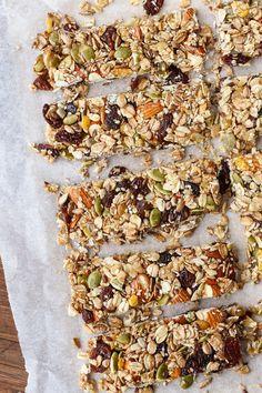 Barre granola aux pop-corns