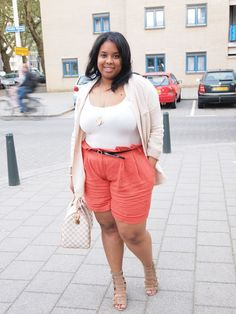 Plus Size Fashion - Plus Size Outfit - Supersize my Fashion: OOTD: Taking my shorts out for a spin..