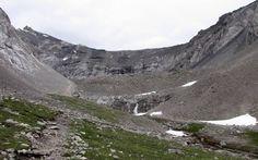 #hiking #ExploreAlberta Ptarmigan Cirque from 10 Great Hikes along Kananaskis Trail, Alberta, Canada.