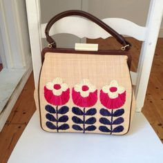 BNWT ULTRA RARE ORLA KIELY FLOWER PRINT HOLLY BAG in Clothes, Shoes & Accessories, Women's Handbags | eBay