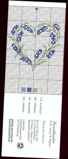 Brilliant Cross Stitch Embroidery Tips Ideas. Mesmerizing Cross Stitch Embroidery Tips Ideas. Small Cross Stitch, Cross Stitch Heart, Cross Stitch Flowers, Cross Stitch Designs, Cross Stitch Patterns, Embroidery Hearts, Cross Stitch Embroidery, Embroidery Patterns, Lavender Bags