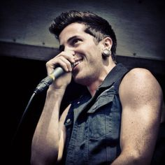 David Escamilla - Crown The Empire !!! <3 AHH :D when I met them after the Concert I went to a few months ago.. I was so so so happpy ! After he hugged me and shook my face :D AHH... Life was so perfect..